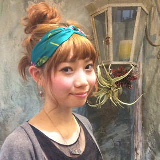 ミディアム ショート 簡単ヘアアレンジ ヘアアレンジ ヘアスタイルや髪型の写真・画像