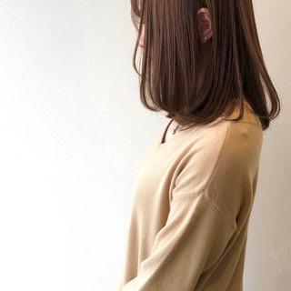 ボブヘアー 鎖骨ミディアム ロブ モテボブ ヘアスタイルや髪型の写真・画像