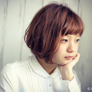 ショート 小顔 大人女子 大人かわいい ヘアスタイルや髪型の写真・画像