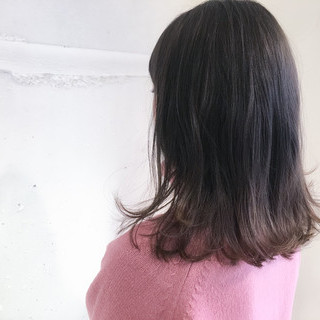 こなれ感 ミディアム 大人女子 ボブ ヘアスタイルや髪型の写真・画像