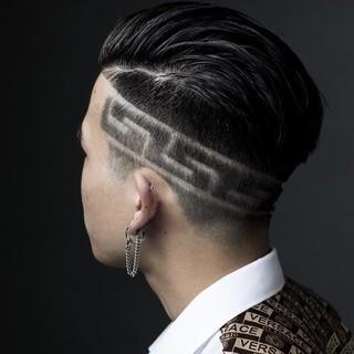 刈り上げ メンズスタイル メンズショート ストリート ヘアスタイルや髪型の写真・画像