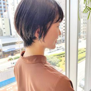 大人かわいい ショート デート オフィス ヘアスタイルや髪型の写真・画像