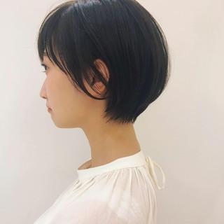 簡単ヘアアレンジ 透明感 ヘアアレンジ ショート ヘアスタイルや髪型の写真・画像