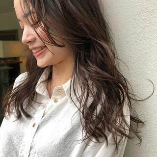 透明感 外国人風 外国人風フェミニン ゆるふわ ヘアスタイルや髪型の写真・画像