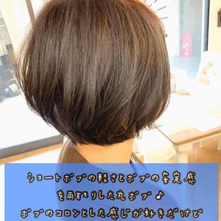 大人かわいい ヘアアレンジ デート ショートボブ ヘアスタイルや髪型の写真・画像