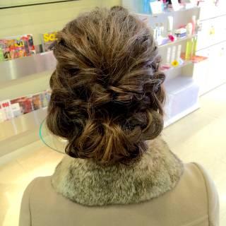愛され 結婚式 コンサバ モテ髪 ヘアスタイルや髪型の写真・画像