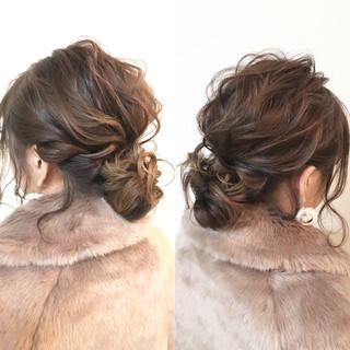 ボブ 結婚式 簡単ヘアアレンジ デート ヘアスタイルや髪型の写真・画像