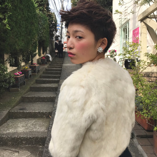 モード アッシュ メンズ パーマ ヘアスタイルや髪型の写真・画像
