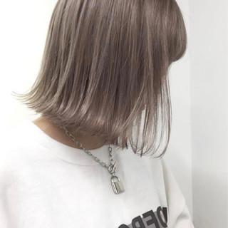 ハイライト ボブ ストリート ヘアアレンジ ヘアスタイルや髪型の写真・画像