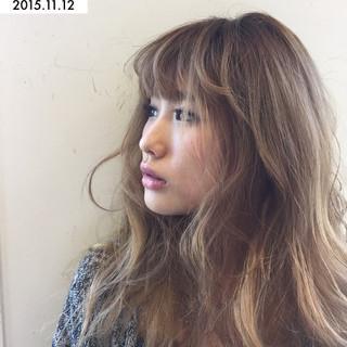 パンク ロング ストリート グラデーションカラー ヘアスタイルや髪型の写真・画像