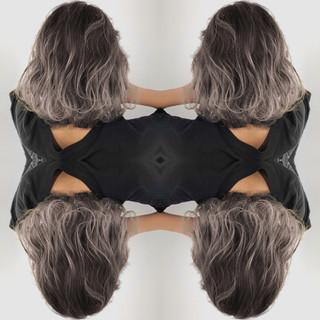 外国人風カラー 透明感 外国人風 フェミニン ヘアスタイルや髪型の写真・画像