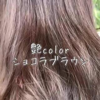 外国人風カラー ナチュラル ロング フェミニン ヘアスタイルや髪型の写真・画像