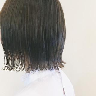 抜け感 ボブ 大人女子 ガーリー ヘアスタイルや髪型の写真・画像