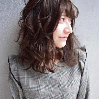 成人式 セミロング ヘアアレンジ 簡単ヘアアレンジ ヘアスタイルや髪型の写真・画像