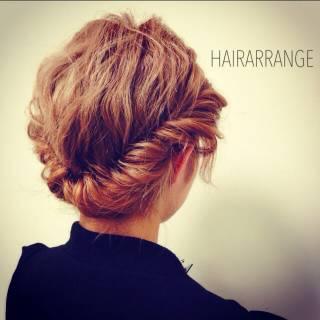 簡単ヘアアレンジ 愛され ヘアアレンジ モテ髪 ヘアスタイルや髪型の写真・画像