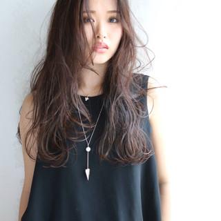 ニュアンス 暗髪 ロング 黒髪 ヘアスタイルや髪型の写真・画像