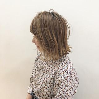 外ハネ ショート ボブ ショートボブ ヘアスタイルや髪型の写真・画像