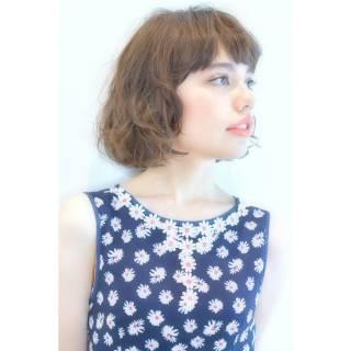 外ハネ 外国人風カラー 外国人風 ナチュラル ヘアスタイルや髪型の写真・画像