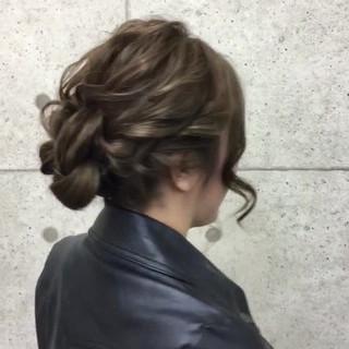 成人式 パーティ アップスタイル ヘアアレンジ ヘアスタイルや髪型の写真・画像