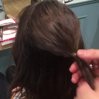 くるりんぱ ショート ラフ ボブ ヘアスタイルや髪型の写真・画像