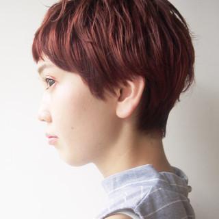 小顔 スポーツ ストリート アウトドア ヘアスタイルや髪型の写真・画像