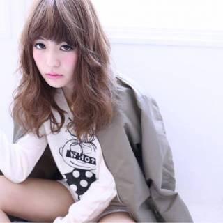 暗髪 ウェットヘア ロング ショート ヘアスタイルや髪型の写真・画像