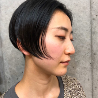 メンズショート ハンサムショート モード ショート ヘアスタイルや髪型の写真・画像