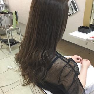 透明感 大人かわいい ゆるふわ 外国人風 ヘアスタイルや髪型の写真・画像