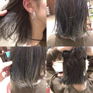 グラデーションカラー 暗髪 外国人風 ストリート ヘアスタイルや髪型の写真・画像