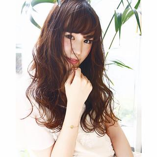 大人かわいい ストリート ブラウン 外国人風 ヘアスタイルや髪型の写真・画像
