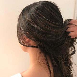 外国人風カラー ハイライト ロング ヘアカラー ヘアスタイルや髪型の写真・画像