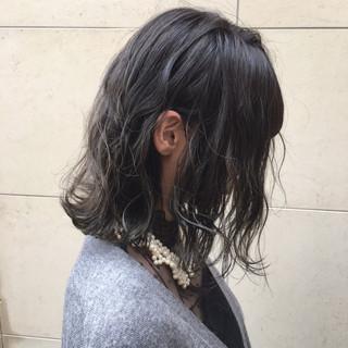 ハロウィン ボブ ハイライト 外国人風カラー ヘアスタイルや髪型の写真・画像