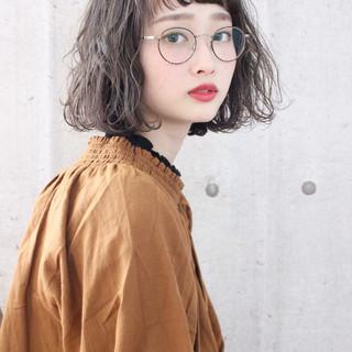 アッシュベージュ 大人かわいい グレージュ ナチュラル ヘアスタイルや髪型の写真・画像