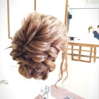フェミニン 簡単ヘアアレンジ 大人かわいい アッシュ ヘアスタイルや髪型の写真・画像