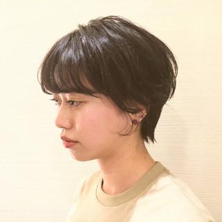 ヘアアレンジ デート ショート アウトドア ヘアスタイルや髪型の写真・画像