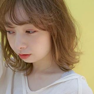 ヘアアレンジ ウルフカット 外国人風 ナチュラル ヘアスタイルや髪型の写真・画像