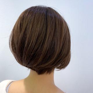 ボブ ミニボブ ショートヘア ベリーショート ヘアスタイルや髪型の写真・画像