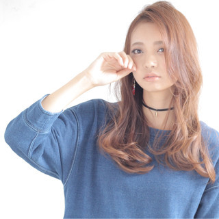 フェミニン 大人かわいい おフェロ ロング ヘアスタイルや髪型の写真・画像