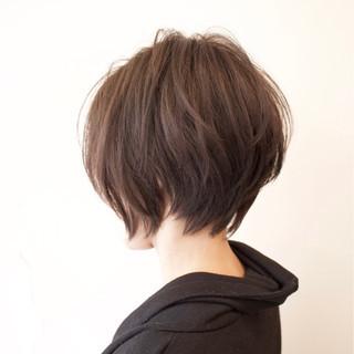 ショートボブ ショート アッシュベージュ ストリート ヘアスタイルや髪型の写真・画像