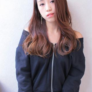 ガーリー ロング ゆるふわ 大人かわいい ヘアスタイルや髪型の写真・画像