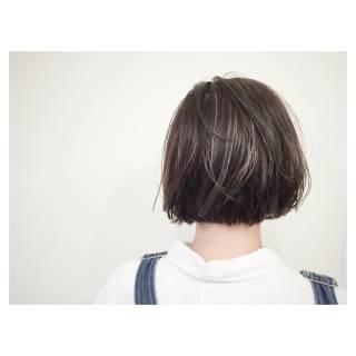 ボブ ストリート 大人かわいい 外国人風 ヘアスタイルや髪型の写真・画像
