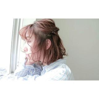 大人かわいい こなれ感 大人女子 ナチュラル ヘアスタイルや髪型の写真・画像