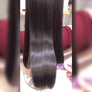 トリートメント 髪質改善トリートメント 髪質改善カラー ロング ヘアスタイルや髪型の写真・画像