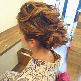 夏 リラックス ロング 色気 ヘアスタイルや髪型の写真・画像