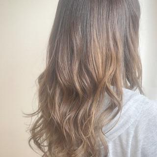 透明感 秋 セミロング 外国人風 ヘアスタイルや髪型の写真・画像