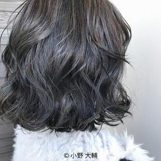 ハイライト 外国人風カラー ボブ 透明感 ヘアスタイルや髪型の写真・画像