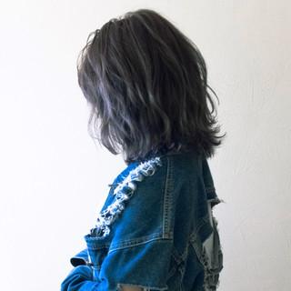 ストリート ハイトーン ボブ 外国人風 ヘアスタイルや髪型の写真・画像