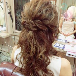 大人かわいい ガーリー ショート ヘアアレンジ ヘアスタイルや髪型の写真・画像
