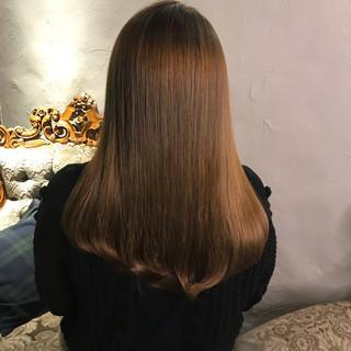 ミルクティーグレージュ ナチュラル ダブルカラー ミルクティー ヘアスタイルや髪型の写真・画像