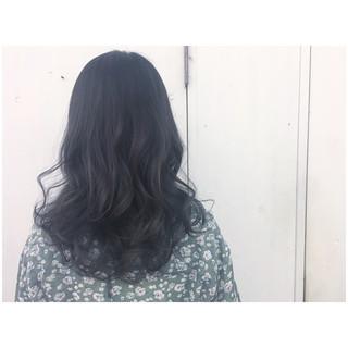 暗髪 アッシュグレージュ グレージュ グレーアッシュ ヘアスタイルや髪型の写真・画像